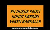 En Düşük Faizli Konut Kredisi Veren 3 Banka