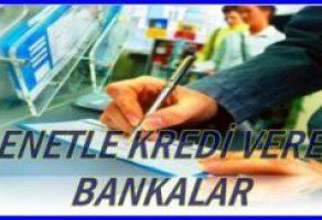 Senetle Kredi Veren Bankalar