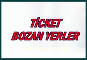 Ticket Yemek Kartlarını Bozan Yerler, Marketler Mağazalar